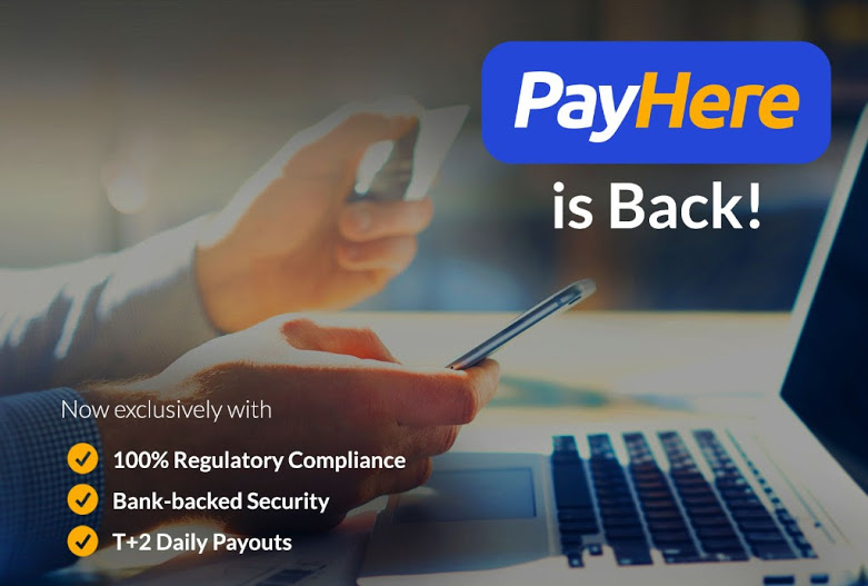 PayHere is back